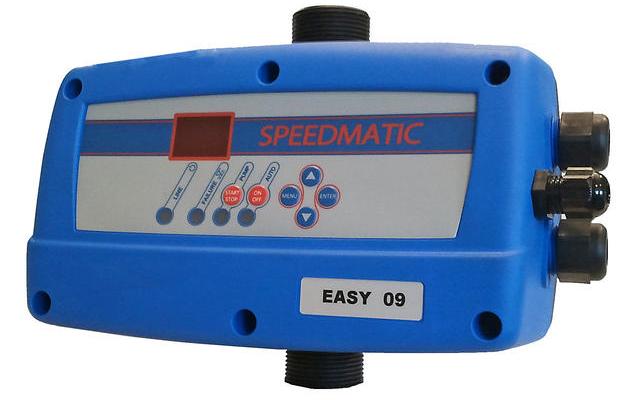 Drehzahl geregelte Pumpensteuerung für 230 V Einphasen / 400V Drehstrom