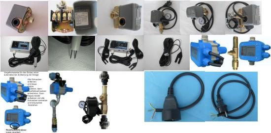 Pumpensteuerung- und Überwachung, Pumpenanlage- Entwässerung (Frostschutz), Brunnenüberwachung,