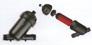 EW20100  -DISC 100  - 5m³/h (3/4) Rillenscheibenfilter, Sand-Vor-Schmutz Filter