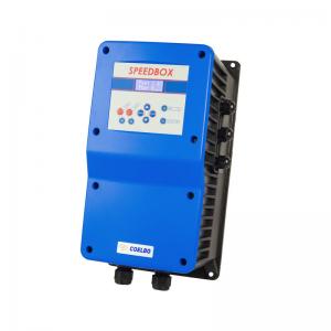 EW62044 SpeedBox 1112  MM regelt Drehzahl der Pumpe nach eingestelltem Druck.