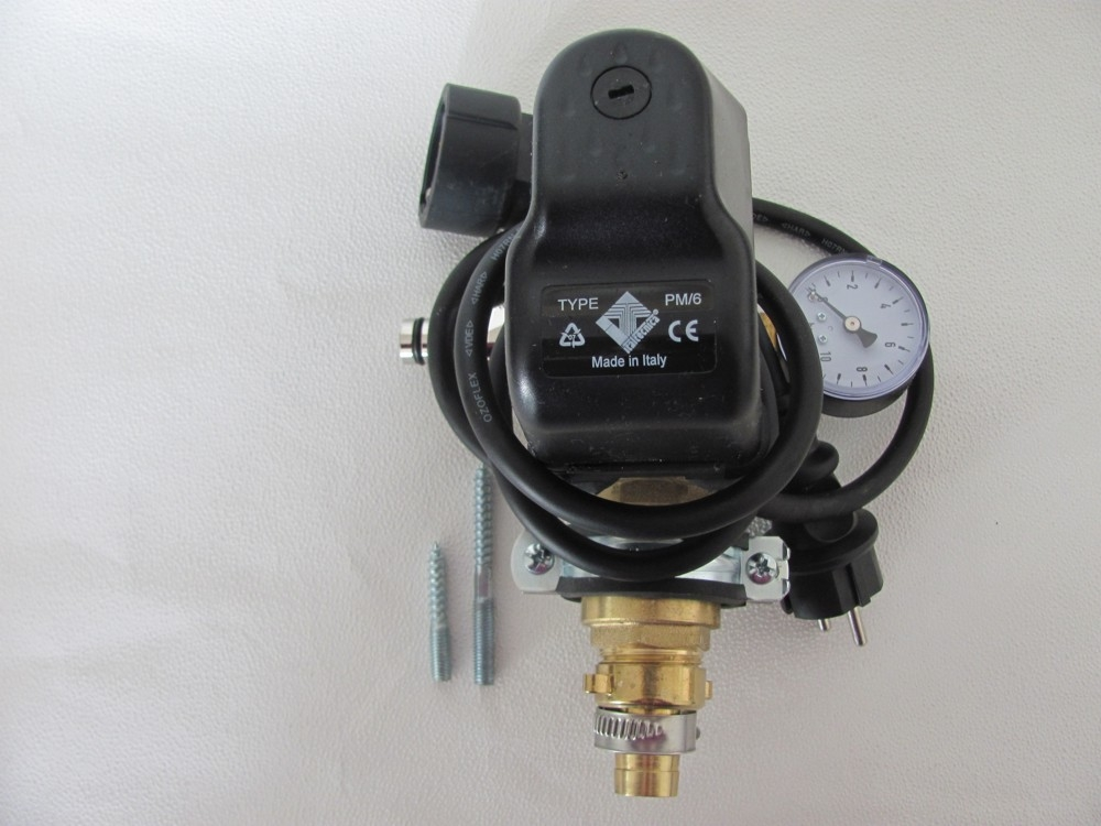 dr1008 druckschalter set mit kabel r ckschlagven. Black Bedroom Furniture Sets. Home Design Ideas