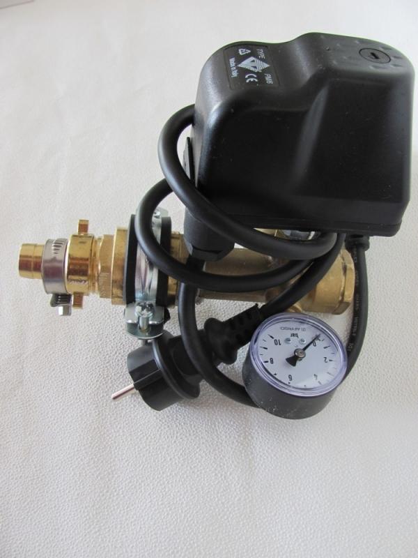 dr1008 druckschalter set mit kabel r ckschlagven pumpentechnik tiefbrunnenpumpen. Black Bedroom Furniture Sets. Home Design Ideas