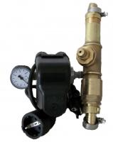 DR1013 -Druckschalter  Type PM/5 1,5 -5bar Made in ITALY Set mit Kabel, 5Wegeadapter und Manometer, Wandanbaubar, betriebsfertig montiert, inkl. Automatisches Entleerungsventil, nur für Membranpumpen