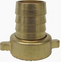 IN0007 - Stück Schlauchtülle  Überwurfverschraubung 3/4 x 19mm  (3/4 Schlauch) Messing