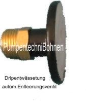 IN8016 -Entleerungsventil für automatische Entleerung einer Drip / Sprinklerangage 1/2 Messing