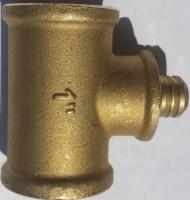 IN8010 -Entleerungsventil Set 1 Messing, zur automatischen Entleerung einer Drucküberwachungsanlage für Brunnenrohr Innendurchmesser ab 110mm