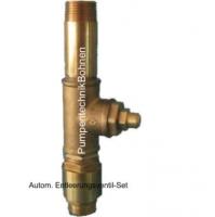 IN8011 -Entleerungsventil Set 1 Messing, mit Rückschlagventil 1, zur automatischen Entleerung einer Drucküberwachungsanlage mit Tiefbrunnenpumpe