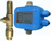DR3012 -Drucküberwachung , Trockenlaufschutz / autm. Entleerung Set, elektronisch, 230Volt, 10Amp, bis 10bar