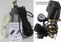KS001 - Beregnungs - Set -Membranpumpe MA-o1 mit 15 Meter Anschlusskabel, Druckschalter, Halteseil und Schlauch Anschluss 3/4