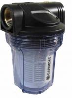 ZU2103 -Sand - GARDENA Vorfilter Kunststoff   mit Filterpatrone  6,0 m³/h Wasserdurchlass